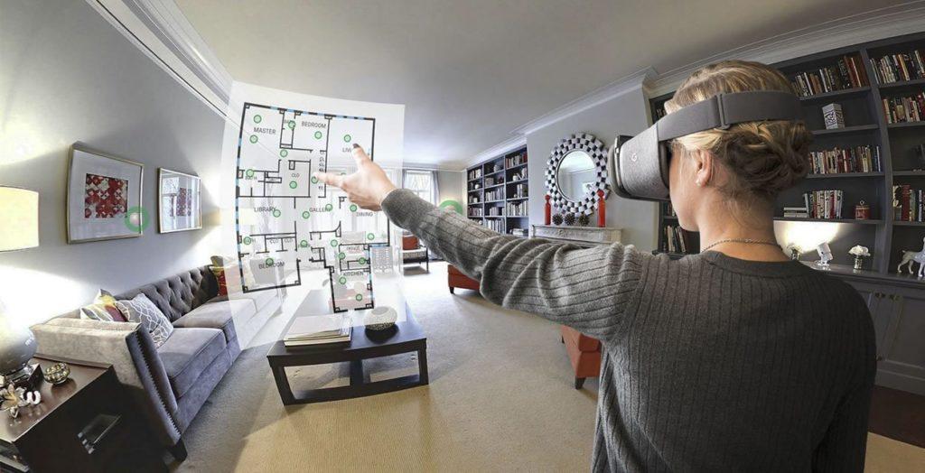Виртуальная реальность в недвижимости.